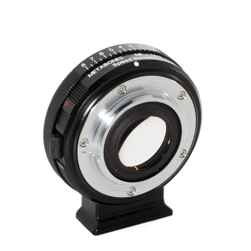 Metabones Nikon F Speed Booster for Micro Four Thirds