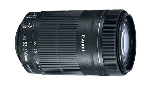 Canon EF-S 55-250mm STM Telephoto Zoom Lens