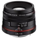 Ricoh HD PENTAX DA 35mm f:2.8 Macro Limited - Black