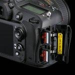 Nikon D610 Card slot