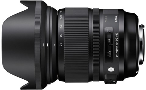 Sigma 24-105mm f:4 DG OS HSM Lens
