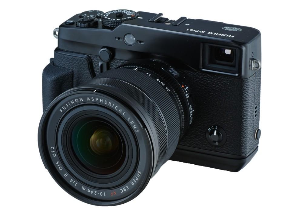 Fujinon XF10-24mmF4 R OIS lens with Fujifilm X-Pro1