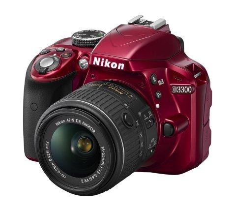 Nikon D3300 (Red)