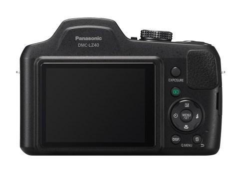 Panasonic Lumix DMC-LZ40 (Back)