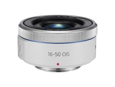 Samsung 16-50mm F3.5-5.6 Power Zoom ED OIS lens (white)