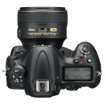 Nikon D4S - Top