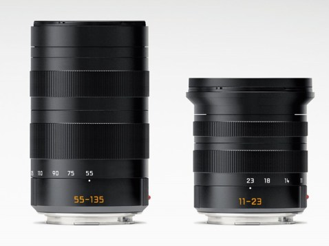 Leica T lenses- 55-135mm and 11-23mm