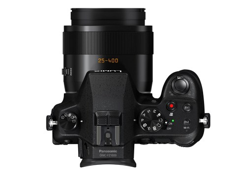 Panasonic Lumix DMC-FZ1000 - Top