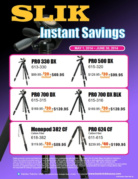 Slik Instant Rebate & Savings