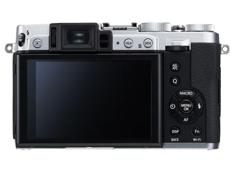Fujifilm X30 - Back