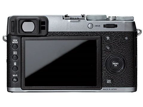 Fujifilm X100T - Back
