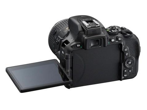 Nikon D5500 - Back
