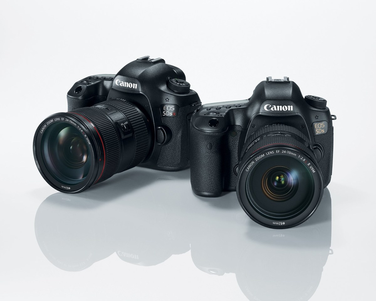 Canon EOS 5DS and EOS 5DS R