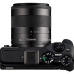 Canon EOS M3 - Top