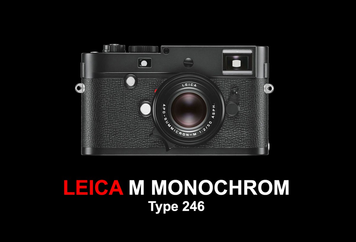 LEICA M MONOCHROM (Type 246) Cover