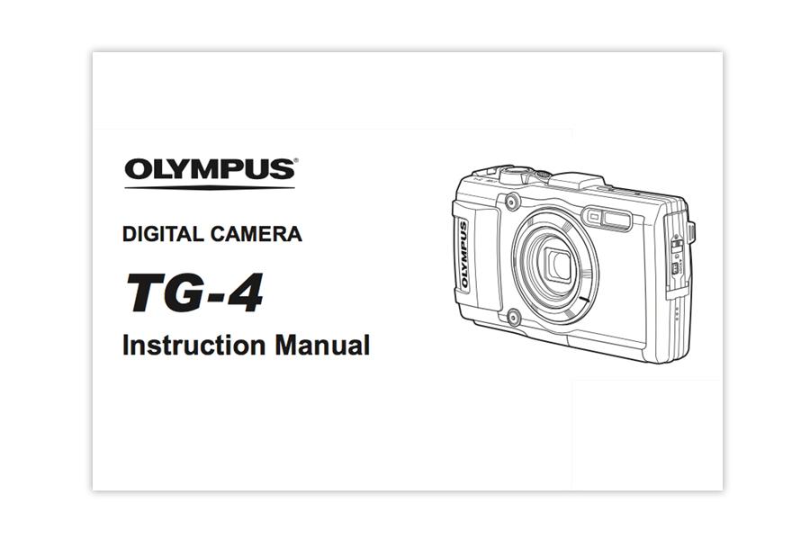 Olympus Stylus TOUGH TG‐4 Instruction Manual PDF Download