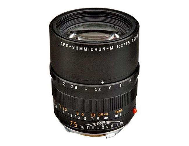 Leica Apo-Summicron-M 75mm f2 ASPH Lens 06