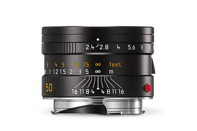 Leica Summarit-M 50mm f2.4 Lens 01