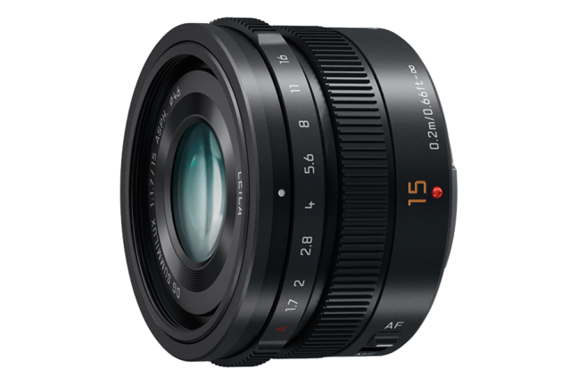 Panasonic Leica DG Summilux 15mm f:1.7 Asph Lens 02