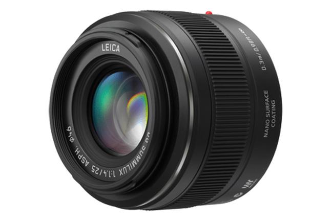 Panasonic Leica DG Summilux 25mm f:1.4 Asph Lens 05
