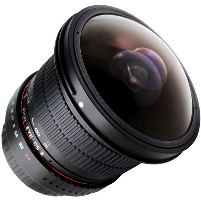 Rokinon 8mm f:3.5 HD Fisheye Lens