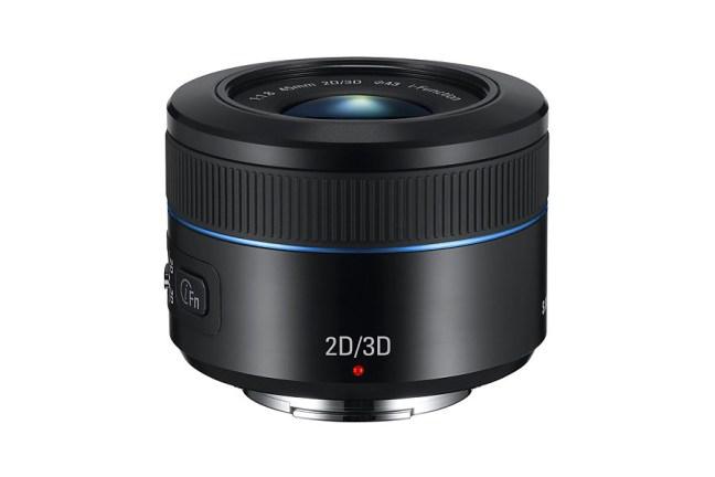 Samsung 45mm F1.8 2D:3D Lens 05