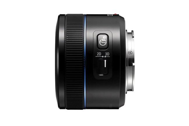 Samsung 45mm F1.8 2D:3D Lens 06