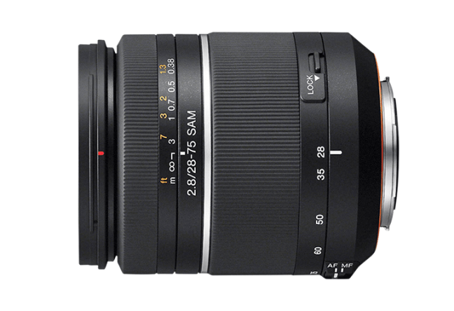 Sony 28–75mm F2.8 SAM ( SAL2875 ) 01