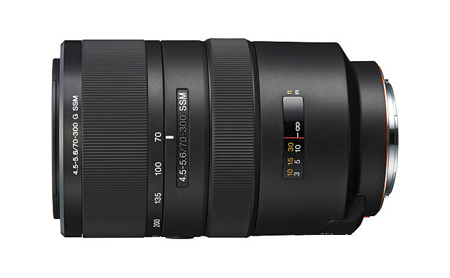 Sony 70–300mm F4.5–5.6 G SSM ( SAL70300G ) 01