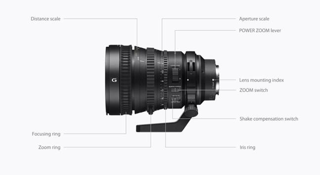 Sony FE PZ 28-135mm F4 G OSS ( SELP28135G ) 01