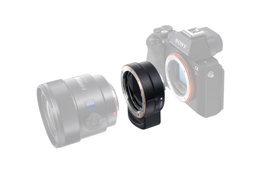 Sony Mount Adaptor LA-EA3 02
