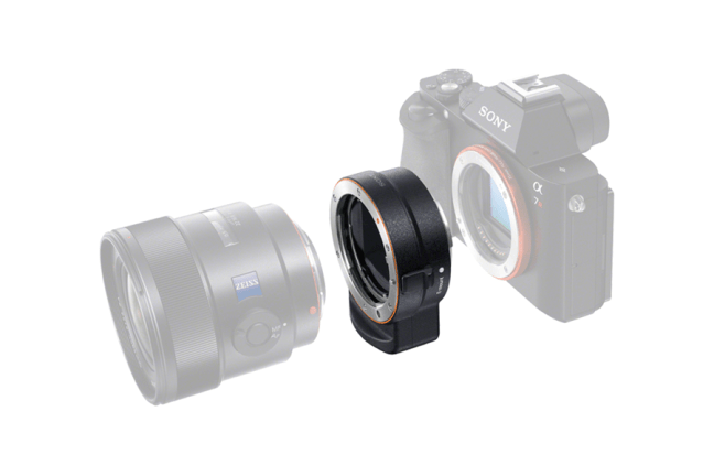 Sony Mount Adaptor LA-EA3 02
