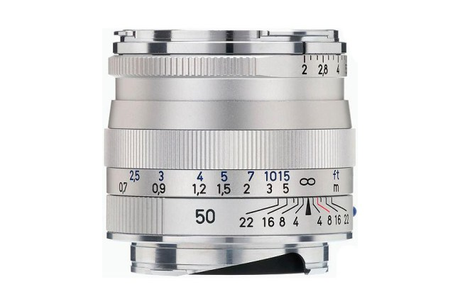 Zeiss Planar T* 50mm f2 ZM Lens 01