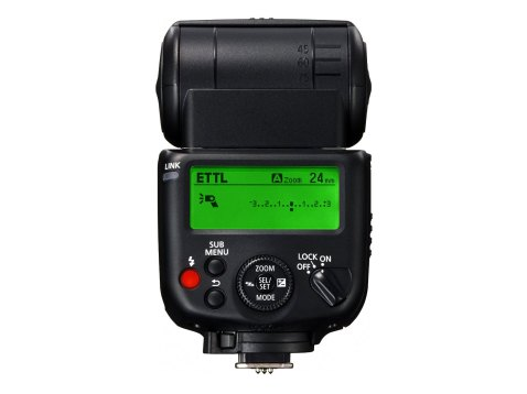 Canon 430EX III-RT Speedlite - Back LCD