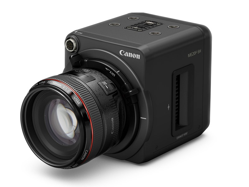 Canon ME20F-SH With EF Lens