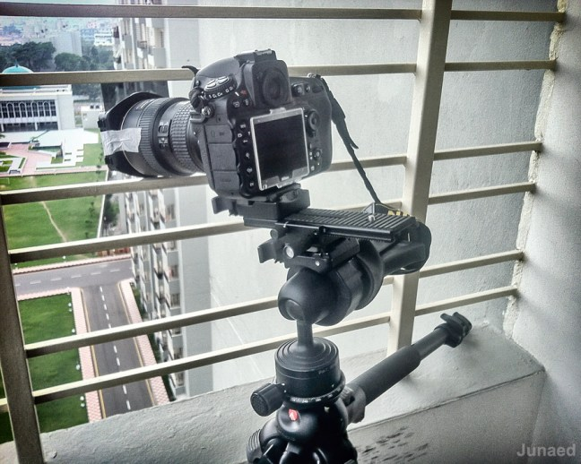 Nikon D810 Time-lapse on location
