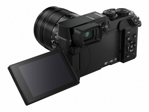Panasonic Lumix DMC-GX8 - LCD Display