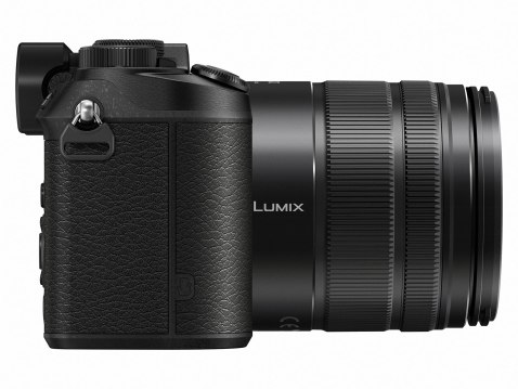 Panasonic Lumix DMC-GX8 - Side