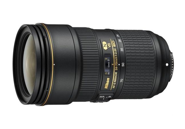 Nikon AF-S NIKKOR 24-70mm f:2.8E ED VR Lens 02