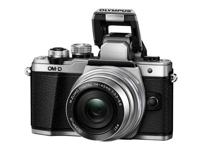 Olympus OM-D E-M10 Mark II flash