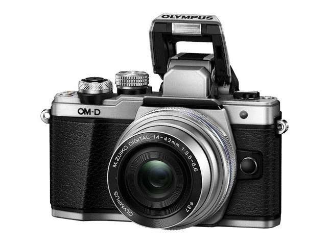Olympus OM-D E-M10 Mark II flash