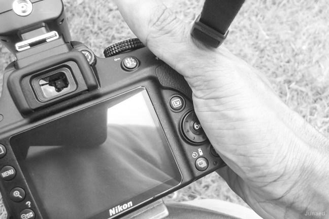 Buttons Nikon D3300