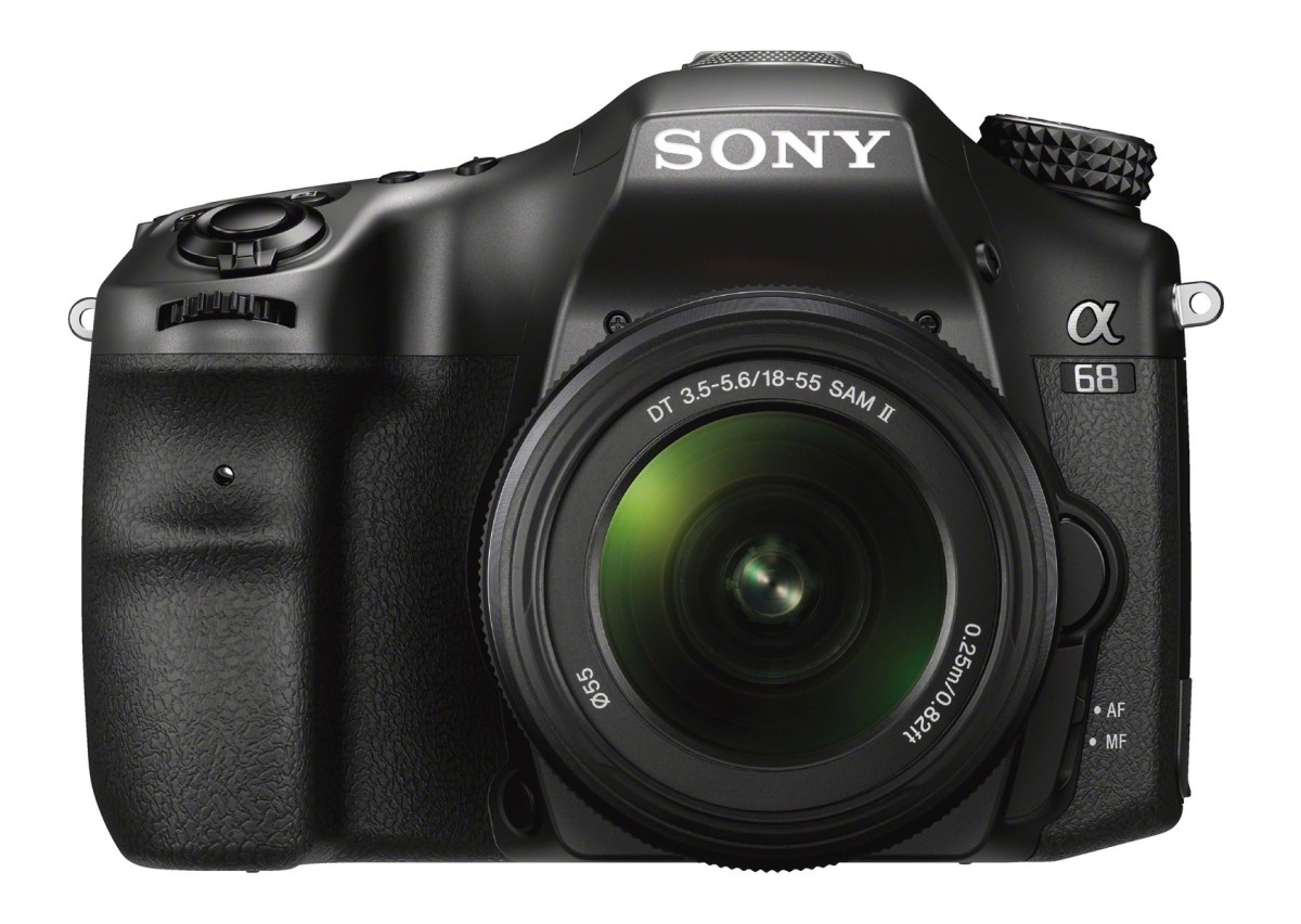 Sony Alpha a68 - Front