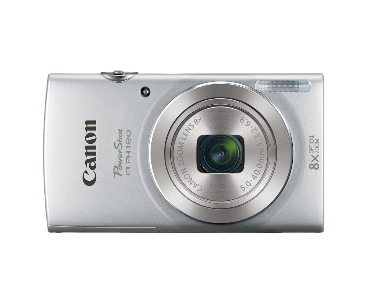Canon PowerShot ELPH 180 _ Silver