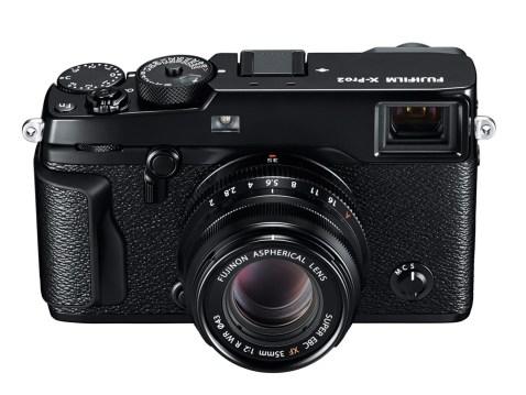 FUJIFILM X-Pro2 with lens