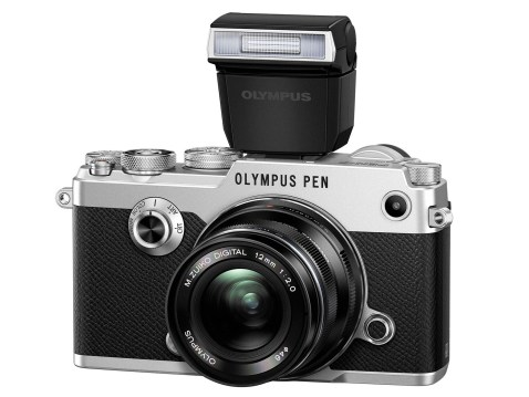 Olympus PEN-F - with Flash