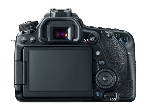 Canon EOS 80D - Back