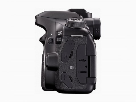 Canon EOS 80D - Connections