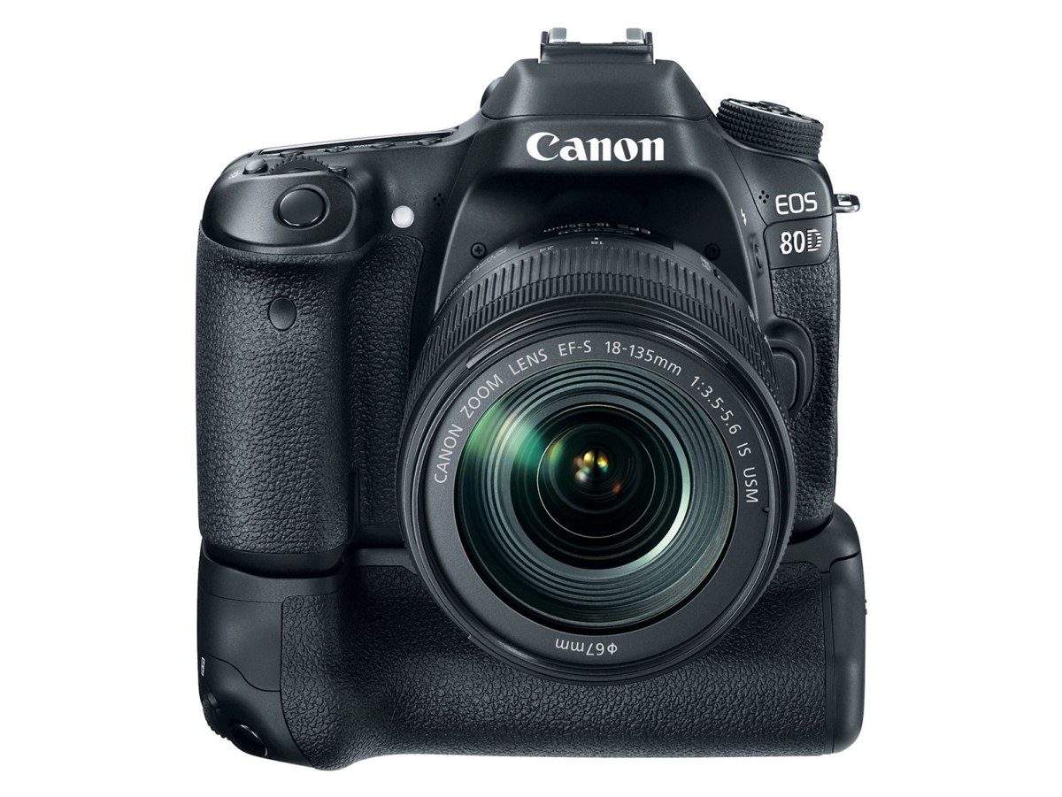 Canon EOS 80D with Grip