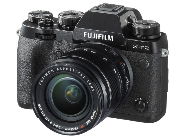 FUJIFILM X-T2 - front